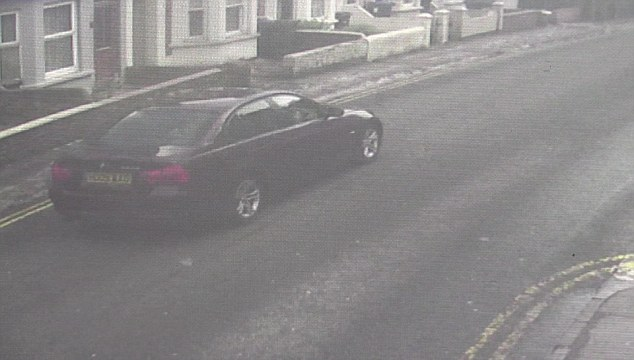 On March 13, another leak from the investigation thrust Skripal's maroon BMW into the heart of the probe. It was initially thought the poison was somehow introduced to the car's ventilation system, and that when the former double agent and his daughter travelled along inside it, they were contaminated. Pictured: Sergei Skripal's BMW captured on CCTV