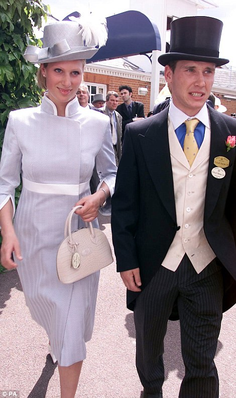 At Royal Ascot in 2002, a year before they broke up