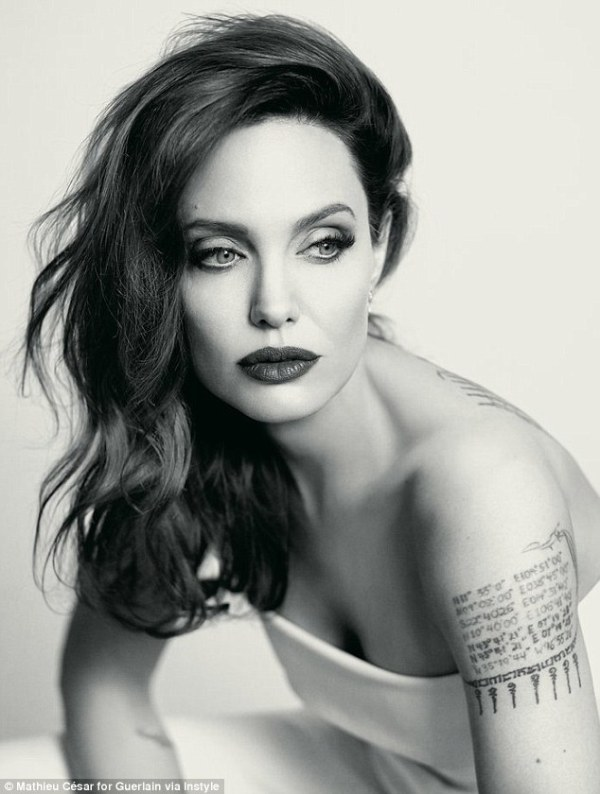 Angelina Jolie talks embracing signs of aging   Daily Mail ...