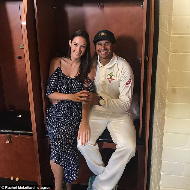 The cricketer proposed to his then-girlfriend during a romantic New York holiday in July 2016