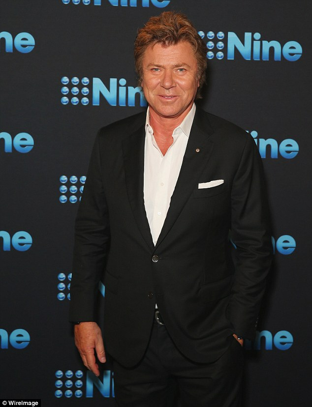 Highly embarrassing: Karl's Today co-host Richard Wilkins is believed to be another person mentioned in the conversation