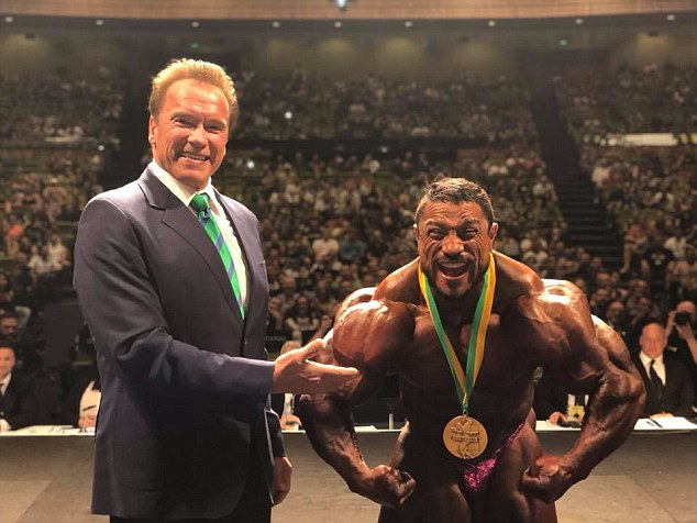 One of the biggest events of the weekend was the The Arnold Classic competition won by bodybuilder Roelly Winklaar, 40