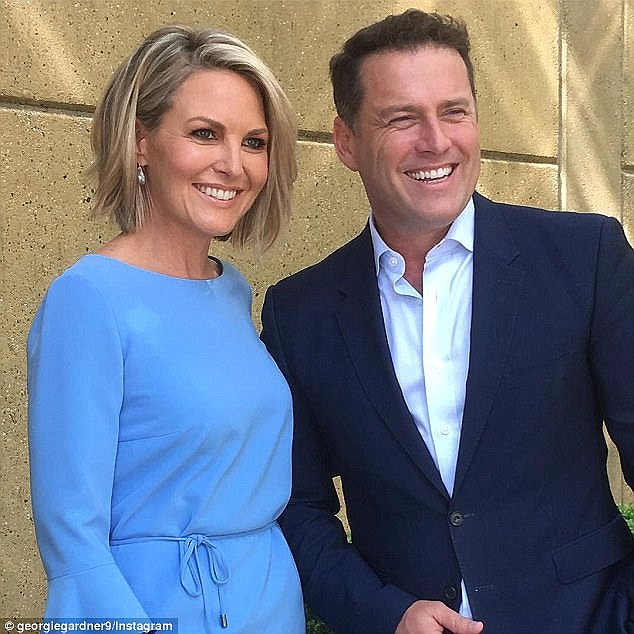 Defending Georgie: Jessica said 'I don't think these two [Karl and Peter Stefanovic] are victims. I think If you have nothing nice to say about someone, do it behind closed doors. Do not do it on speakerphone where people are listening'