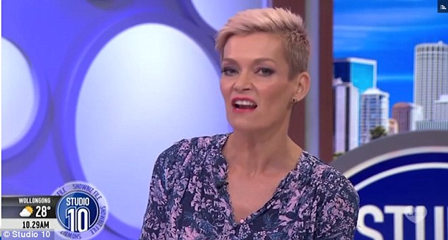 Weighing in: Jessica Rowe has slammed brothers Karl and Peter Stefanovic, over their leaked Uber phone call about Today co-host Georgie Gardner