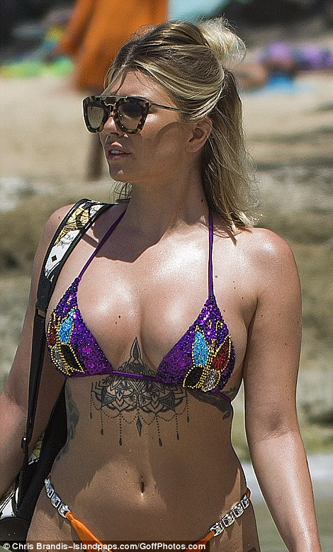 Olivia Buckland Flaunts Her Enviable Curves In Barbados