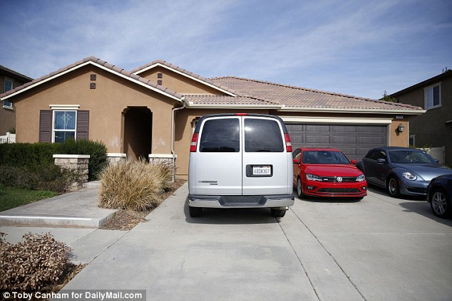 The 13 children were rescued from this Perris, California home where they were allegedly shackled and abused by their parents