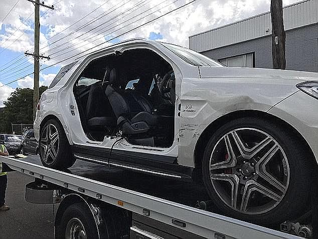 Mehajer is accused of staging the car crash and defrauding an insurance company, days after he'd insured his Mercedes for more than $150,000