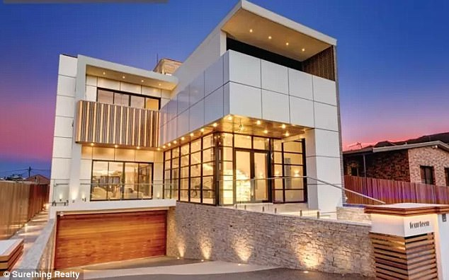 Mehajer's multi-million-dollar estate, including his Lidcombe home (pictured) will now be managed by a trustee who will take control of his property and financial affairs