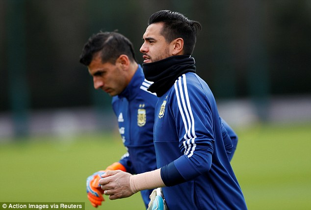 United goalkeeper Sergio Romero will be hopeful of featuring in Russia this summer