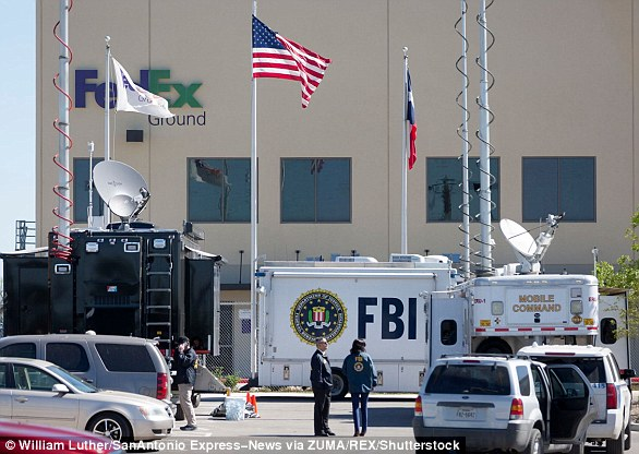 A female worker at a FedEx sorting facility in San Antonio was injured when a package exploded on March 20
