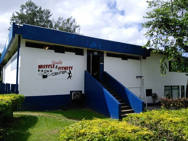 Police are reportedly aware of the altercation at the Ultimate Fitness Vanuatu gym (pictured) involving Mr Nash and Steve, but no official complaint was filed by either party