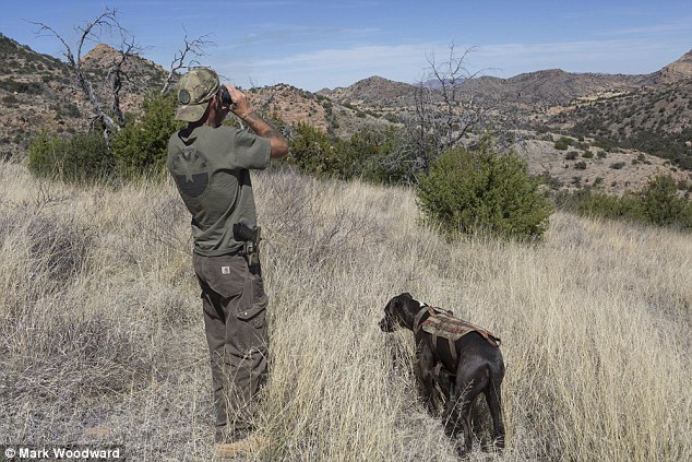 Hundreds of miles of U.S.-Mexico border, like this area in southern Arizona, are completely unprotected