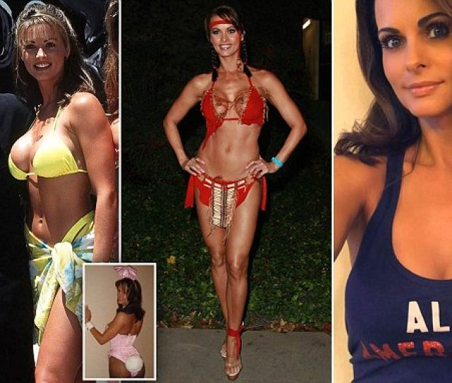 Karen Mcdougals Career From Playboy Playmate To Fitness Guru Daily Mail Online