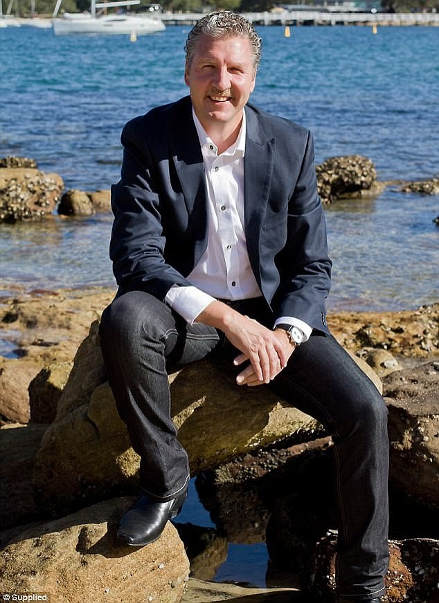 Property expert Rob Klaric (pictured) believes if interest rates rise by one per cent there will be 'carnage' in the market