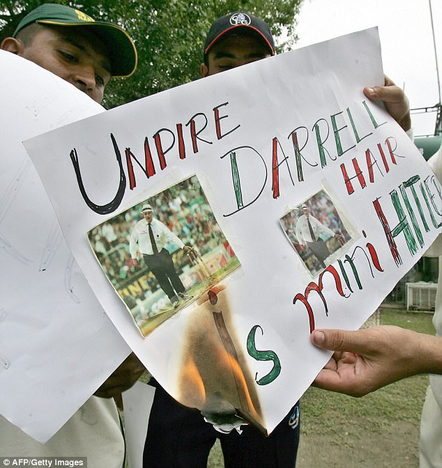 The Pakistani public were horrified by the accusations made by umpire Darrell Hair during the match
