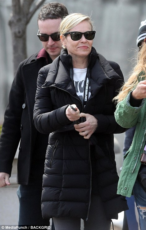 Chelsea Handler out in DC