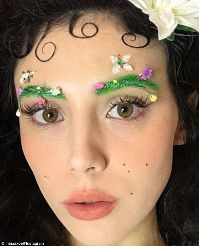 Tren kecantikan alis terbaru: garden eyebrows.