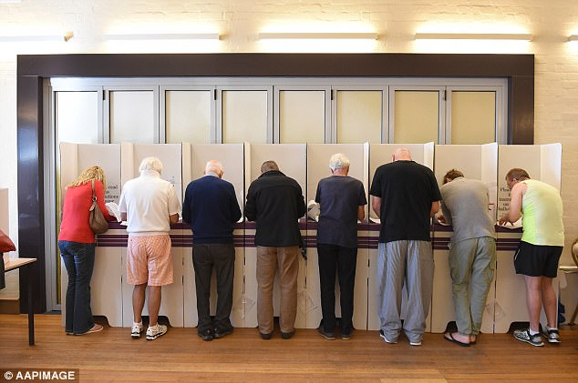 Voting in Australia is compulsory and you can be fined for not participating in an election