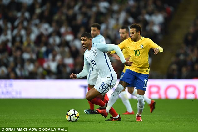 Loftus-Cheek was excluded from Gareth Southgate's England squad for the latest friendlies