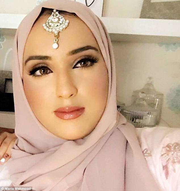 Beauty queen: Maria Mahmood, pictured, will compete in the semi-finals for Miss England