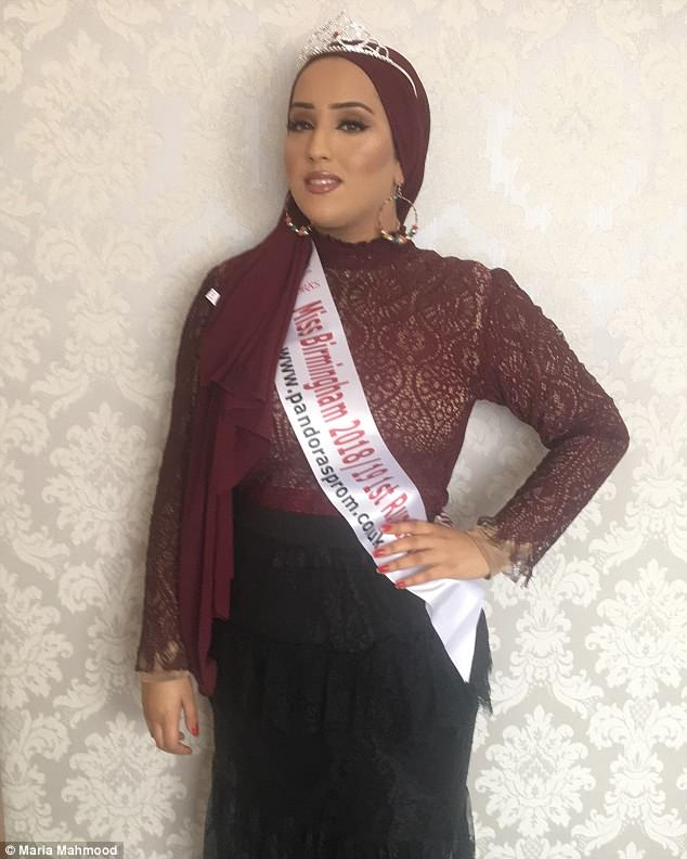 Inspiration: Maria is already inspiring women from minority groups to enter beauty pageants