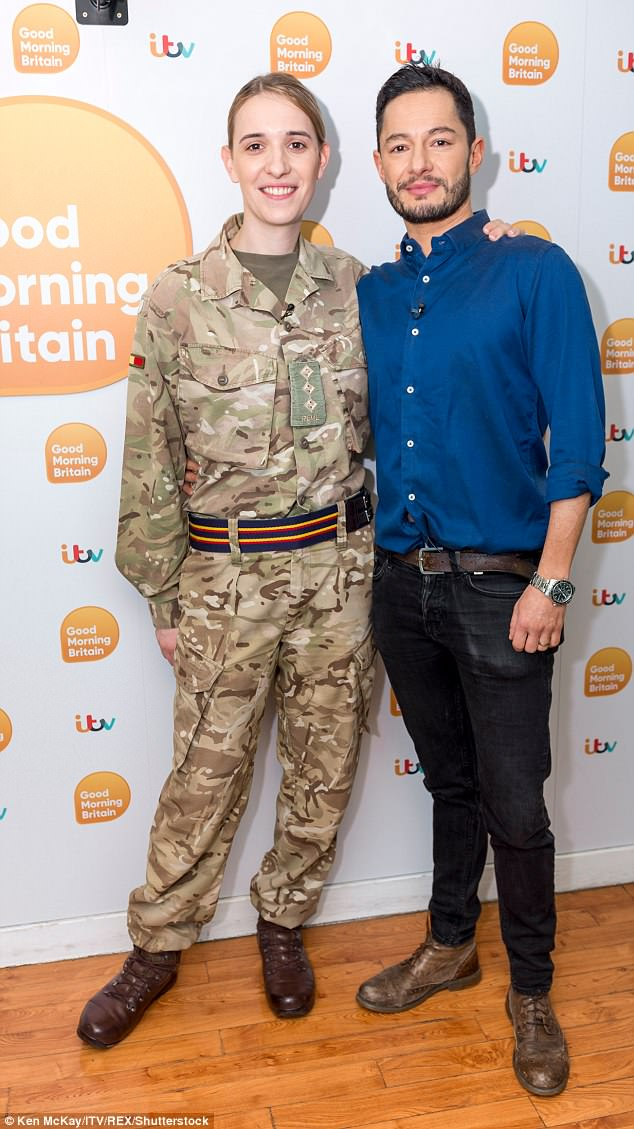 Hannah Winterbourne and Jake Graf on 'Good Morning Britain'