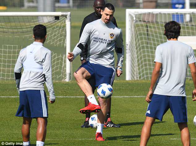 Ibrahimovic demonstrated his confidence by insisting he knew he would win with LA Galaxy