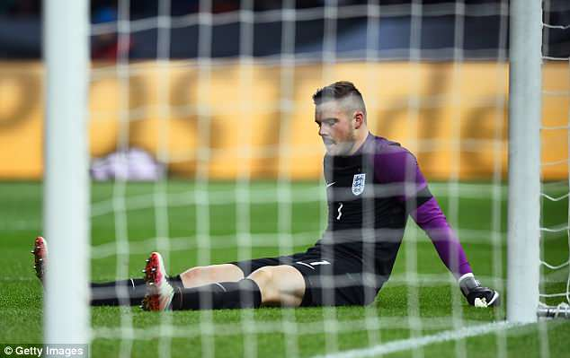 Butland fractured his ankle against Germany in 2016, which led to three operations