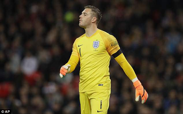 Jack Butland is desperate to become Gareth Southgate's England No 1 at the World Cup