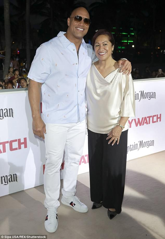 Close: The 45-year-old actor saved his mother Ata's life after she attempted suicide by running into oncoming traffic when he was just 15 (pictured in May 2017)