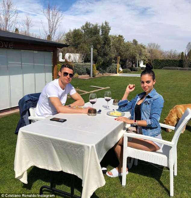 Rodriguez sparked rumours of an engagement with partner Ronaldo after video on Instagram