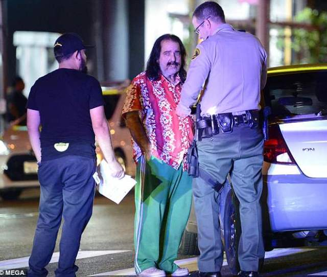 Jeremy Was Pictured Being Interviewed By Deputies After The Accident Earlier This Month In La Before