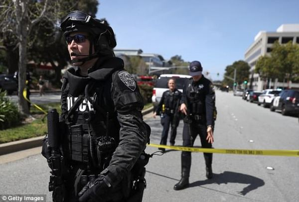 Cops defend decision not to arrest YouTube shooter asleep ...