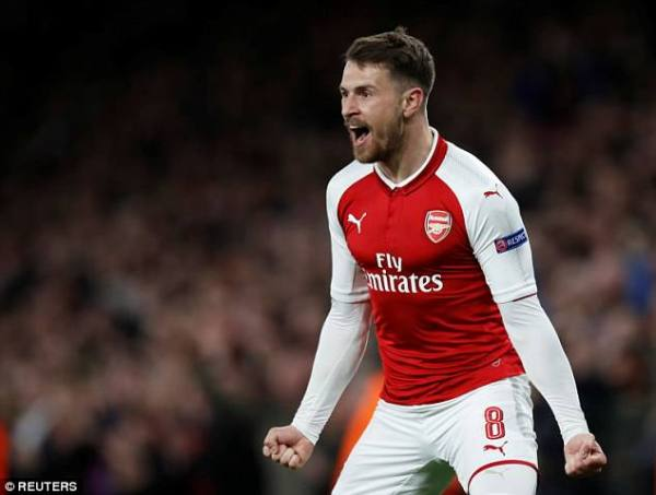Arsenal 4-1 CSKA Moscow PLAYER RATINGS: Aaron Ramsey and ...