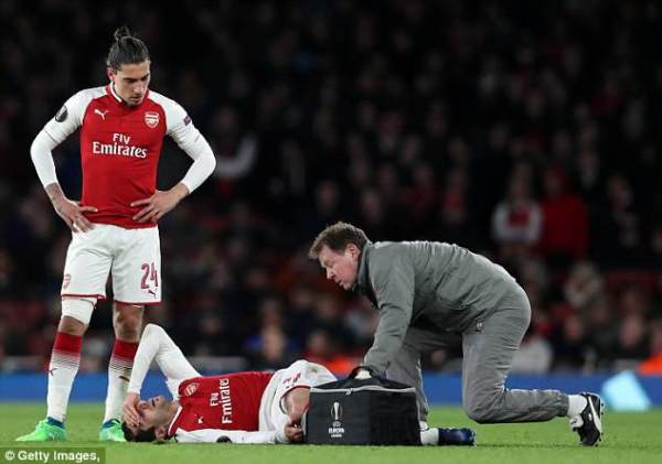 Arsenal's Henrikh Mkhitaryan ruled out of Southampton tie ...