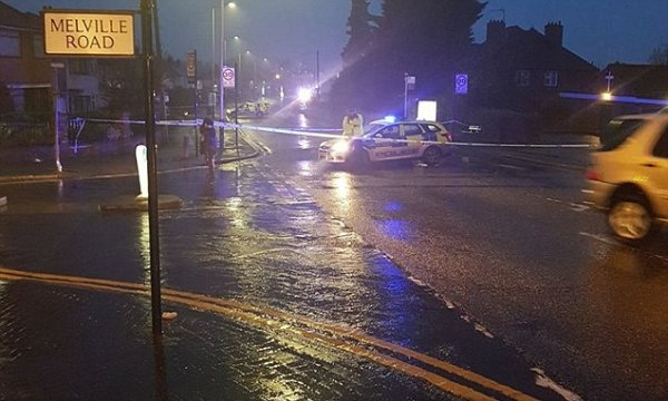 Police cordon off petrol station in Romford after a fatal ...