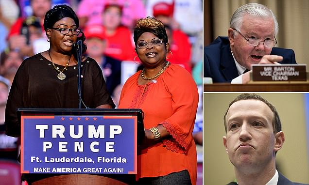 Sorry we censored you, Zuckerberg tells Trump-loving video stars Diamond and Silk