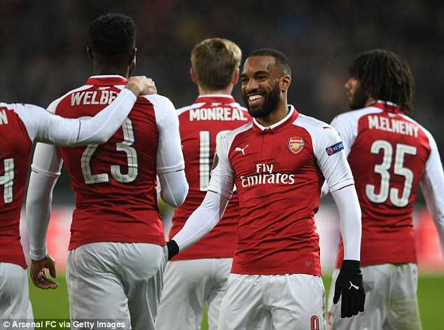 Alexandre Lacazette has urged his side to salvage their poor season with a Europa League win