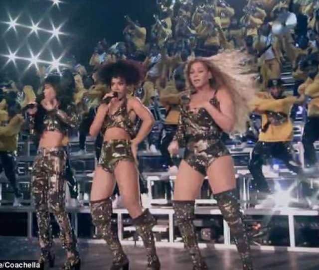 Awkward Beyonces Legendary Comeback To The Stage Was Not Without Its Hiccups With The