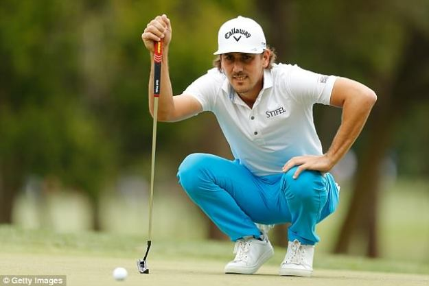 Kraft is pictured here  during the third round of the Valspar Championship at Innisbrook Resort Copperhead Course on March 10, 2018 in Palm Harbor, Florida. (Photo by Michael Reaves/Getty Images)