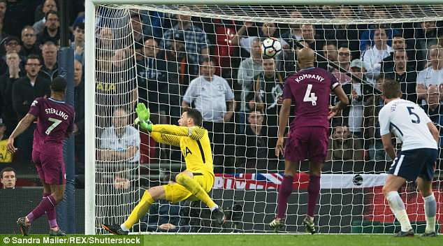 Raheem Sterling scores as City devoured a good Tottenham team after a challenging week