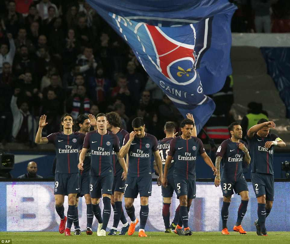 PSG have now won the Ligue 1 title on seven occasions and five times in the last six seasons