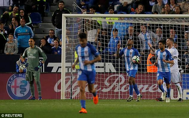 Diego Rolan scored a souvenir goal in the last minute as Madrid claimed the three points