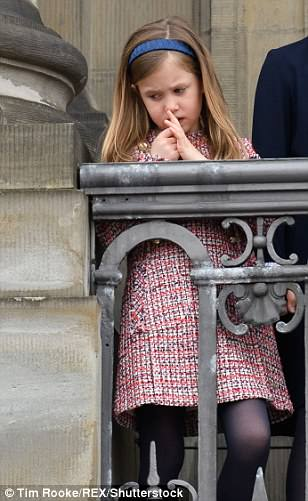 Princess Josephine is the younger daughter of Frederik and Mary