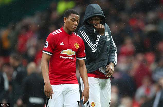 Anthony Martial could also leave after growing frustrated with lack of first-team opportunities