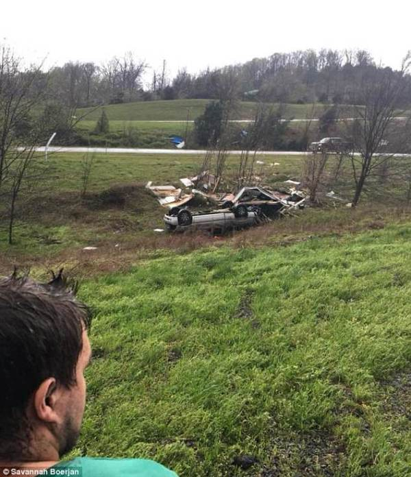 Arkansas couple share video of a tornado bearing down on ...