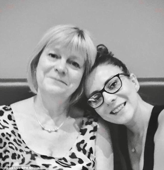 Mrs Lewis (pictured with her daughter) has decided to launch a website to raise awareness about gaslighting, a type of abuse that involves manipulating someone into believing they are insane