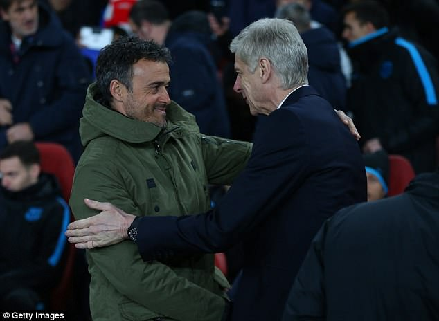 The former Barcelona boss is understood to have met with Arsenal officials in London recently
