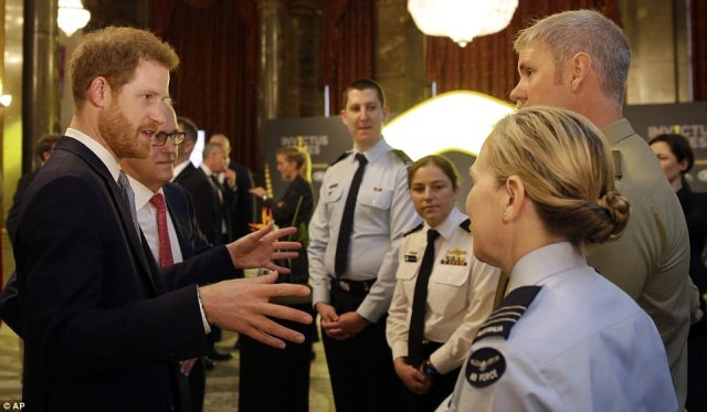 Servicemen and women praised Prince Harry for changing lives ahead of this year's Invictus Games in Sydney