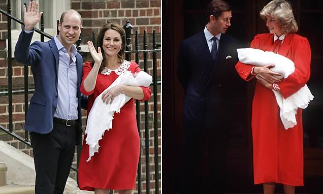 Duchess of Cambridge reveals her maternity outfit